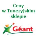 Ceny w tunezyjskim sklepie Geant